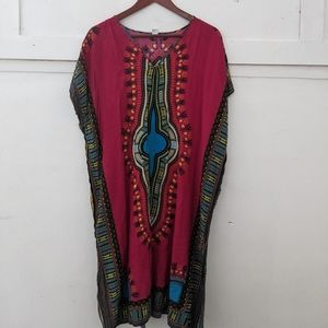 African Style Swimsuit Coverup